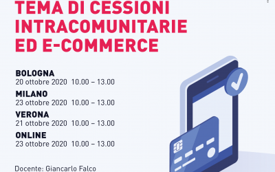 Novità Iva in tema di cessioni intracomunitarie ed e-commerce